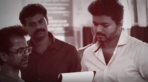 Thalapathy Vijay and A R Murugadoss