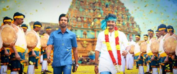 Soori and Sivakarthikeyan in Seema Raja