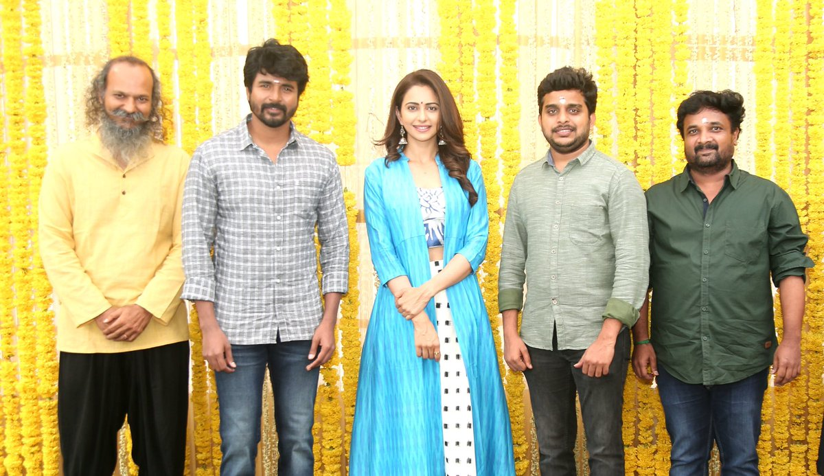 Sivakakarthikeyan and Rakul Preet Singh in SK 14