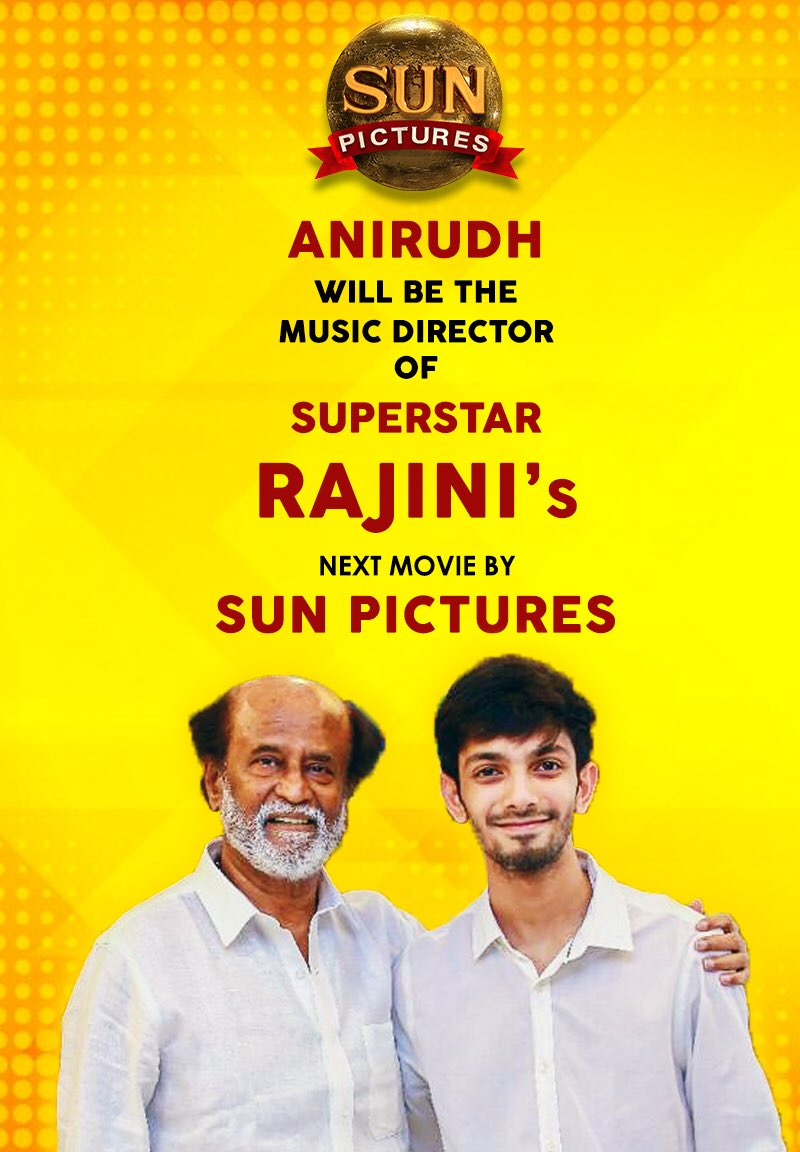 Anirudh Ravichander and Rajinikanth in Thalaivar 165