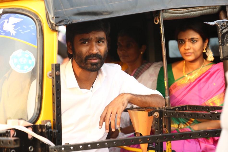 Dhanush and Aishwarya Rajesh in Vada Chennai