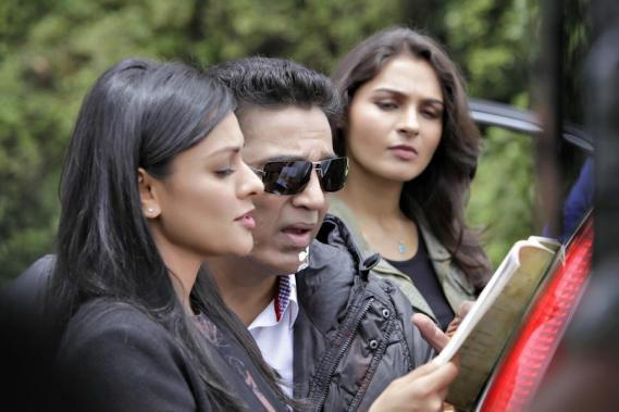 Kamal Haasan Pooja Kumar Andrea Jeremiah in Vishwaroopam 2