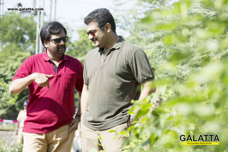 Vivek with Ajith in Yennai Arindhaal