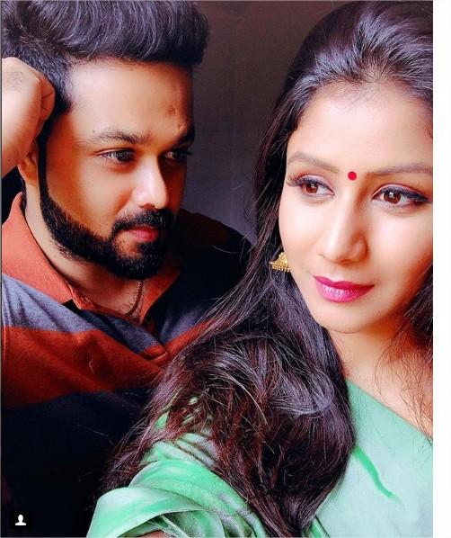 Raja Rani serial stars Alya Manasa and Sanjeev