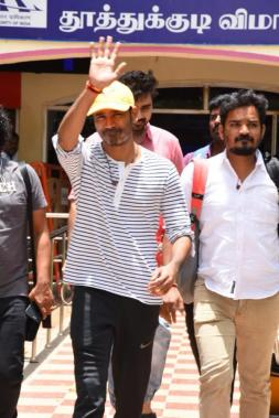 Dhanush at Tuticorin