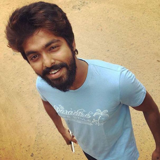 A smiling G V Prakash