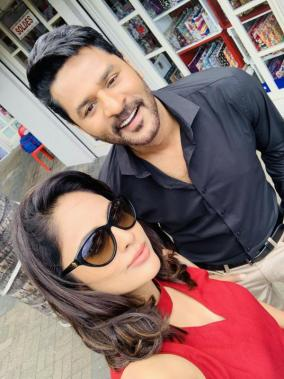 Prabhu Deva and Nandita Swetha in Devi 2