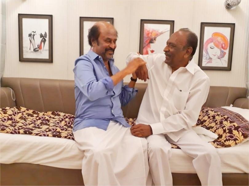 Rajinikanth with J Mahendran