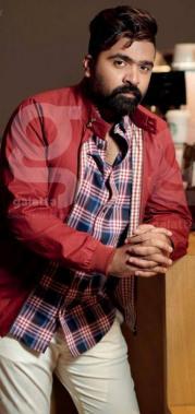 STR Simbu during the Galatta exclusive photo shoot