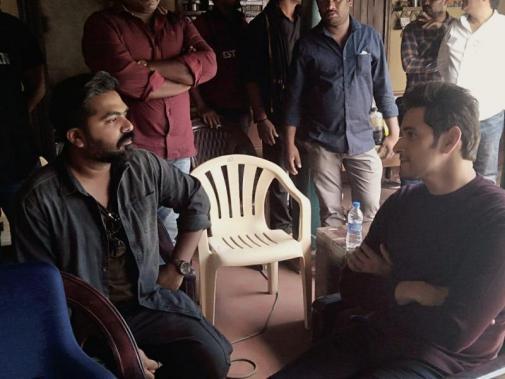 STR Simbu and Mahesh Babu at Vantha Rajavathaan Varuven shooting spot