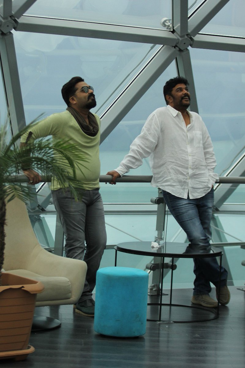 STR Simbu and Sundar C