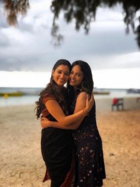 Tamannaah and Nandita Swetha in Devi 2