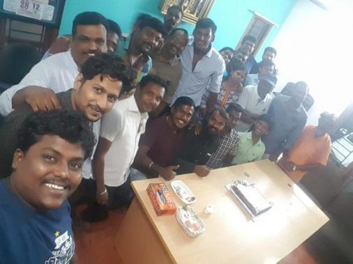 Vishal birthday celebrations