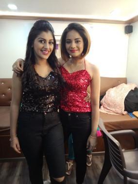 Yashika Aanand and Aishwarya Dutta