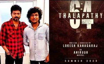 Thalapathy 64 Stunt Silva Joins the Shoot Vijay