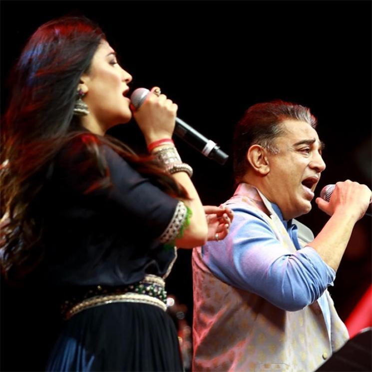 Shruti Hassan Singing ThenPandi Seemayile Song