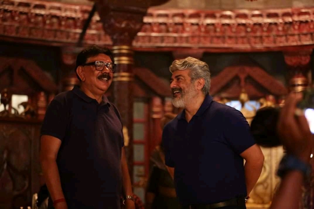 Thala Ajith and director Priyadarshan