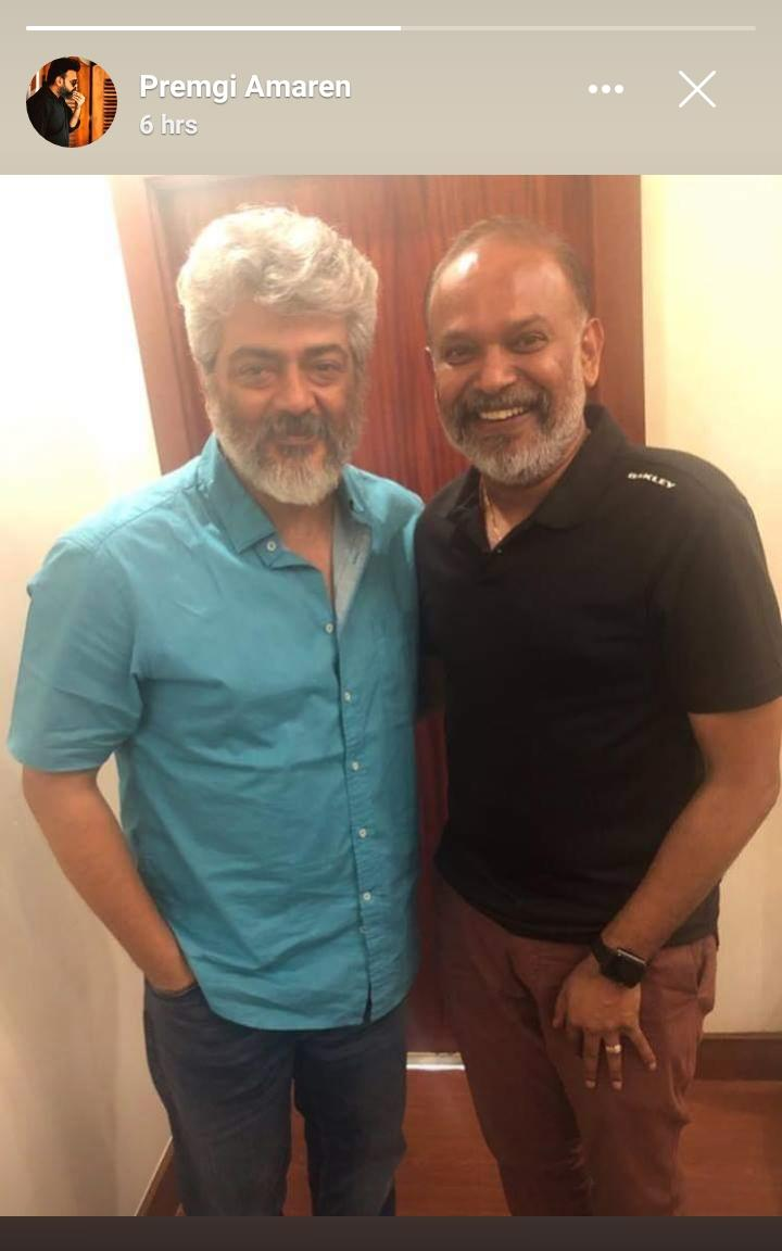 Thala Ajith and director Venkat Prabhu