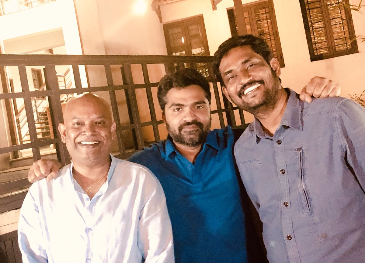 Venkat Prabhu, STR Simbu and Suresh Kamatchi
