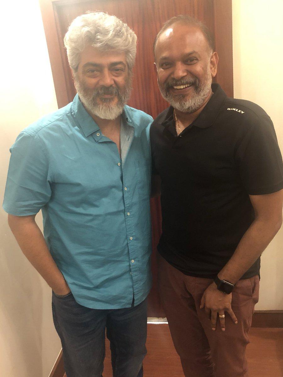 Thala Ajith and director Venkat Prabhu