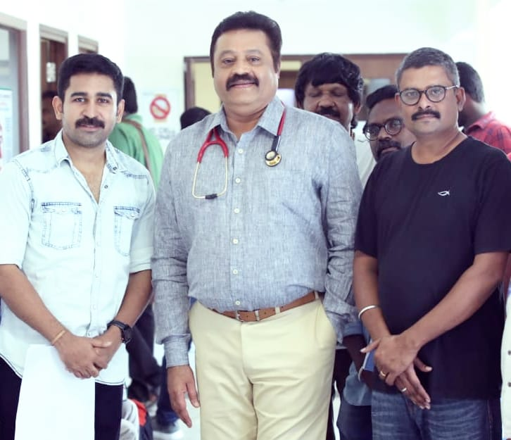 Suresh Gopi and Vijay Antony in Thamilarasan