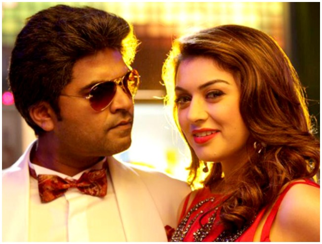 STR Simbu and Hansika in Vaalu