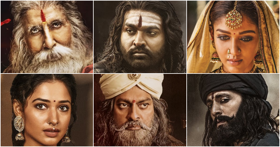 Vijay Sethupathi, Amitabh Bachchan, Nayanthara, Sudeep, Jagapati Babu, Tamannaah,