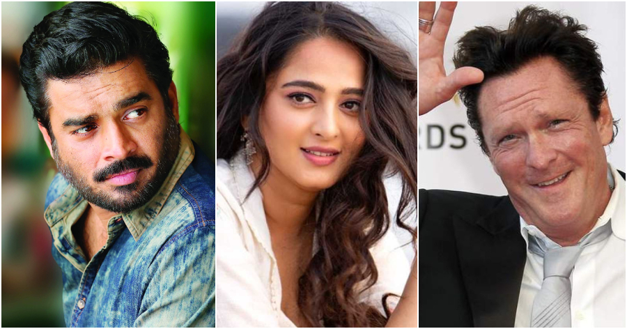Madhavan, Anushka Shetty and Michael Madsen