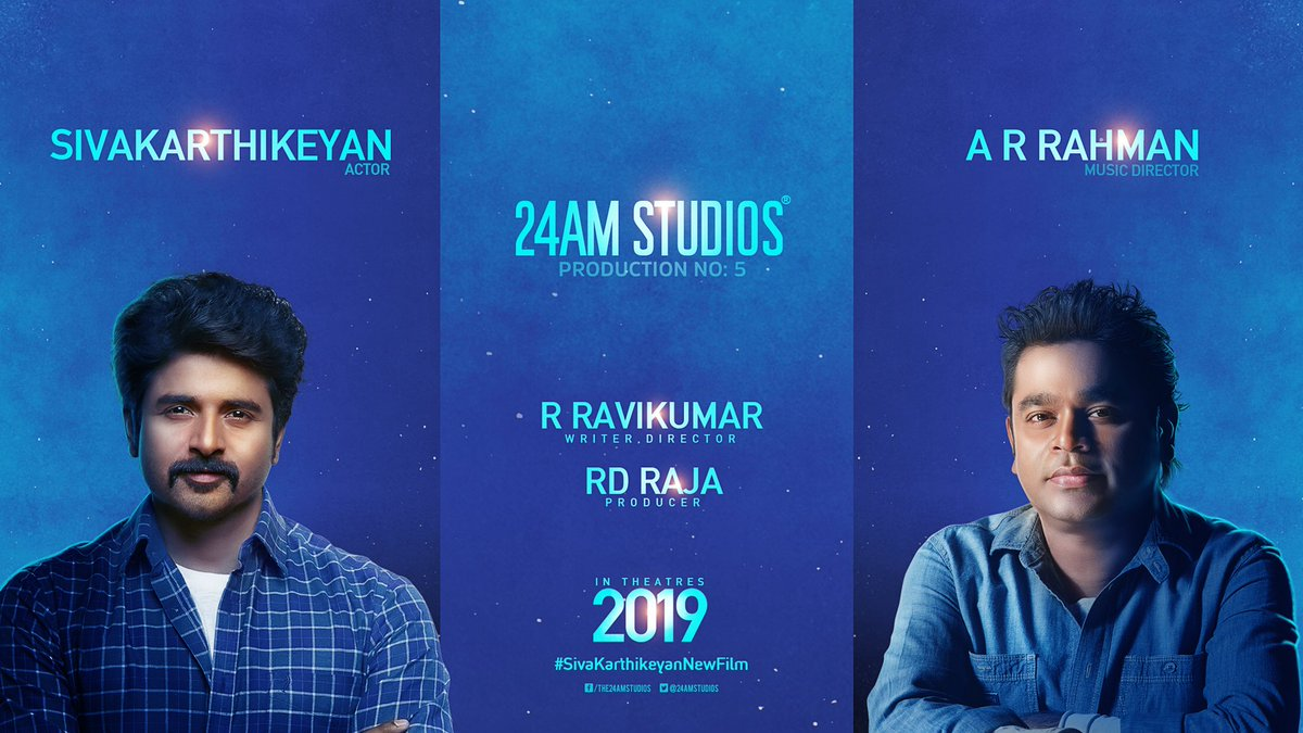 Sivakarthikeyan and A R Rahman for SK 14