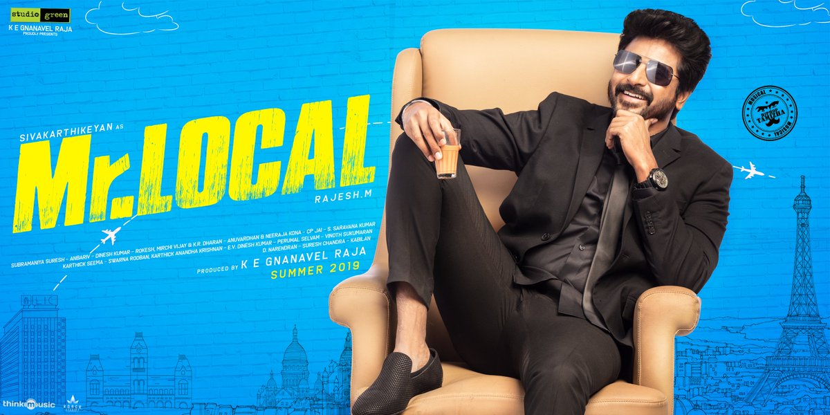 Sivakarthikeyan in Mr Local