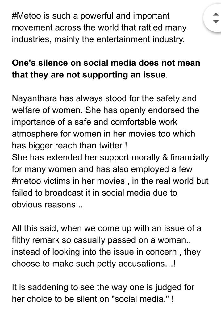 Vignesh Shivan Response to Siddharth MeToo Nayanthara