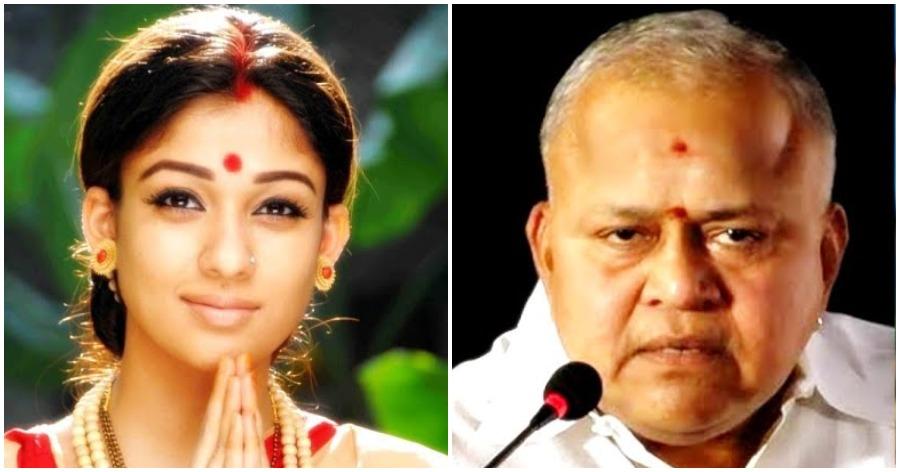 Nayanthara and Radha Ravi