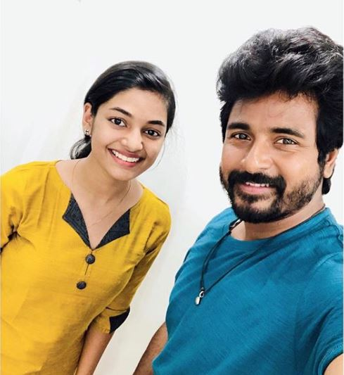 Sivakarthikeyan and Ivana in Hero