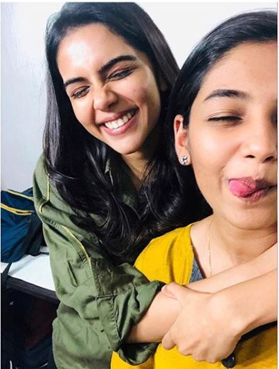 Ivana and Kalyani Priyadarshan in HERO