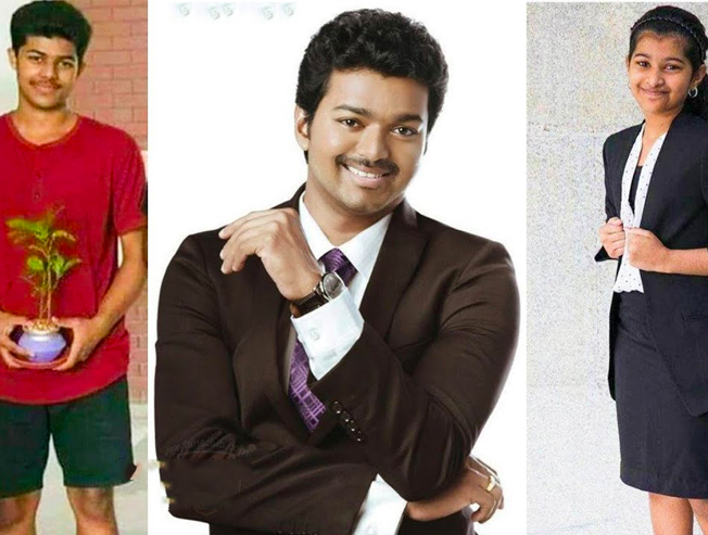 Vijay on a small vacation with his family in China before second