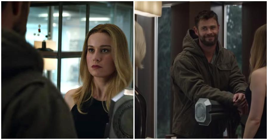 New Avengers: Endgame clip explains where Captain Marvel was during Infinity War