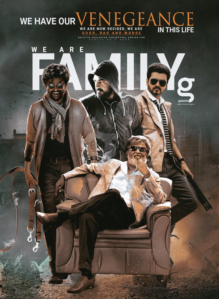 Vijay, Ajith And Other Actors Version Of Darbar First Look!