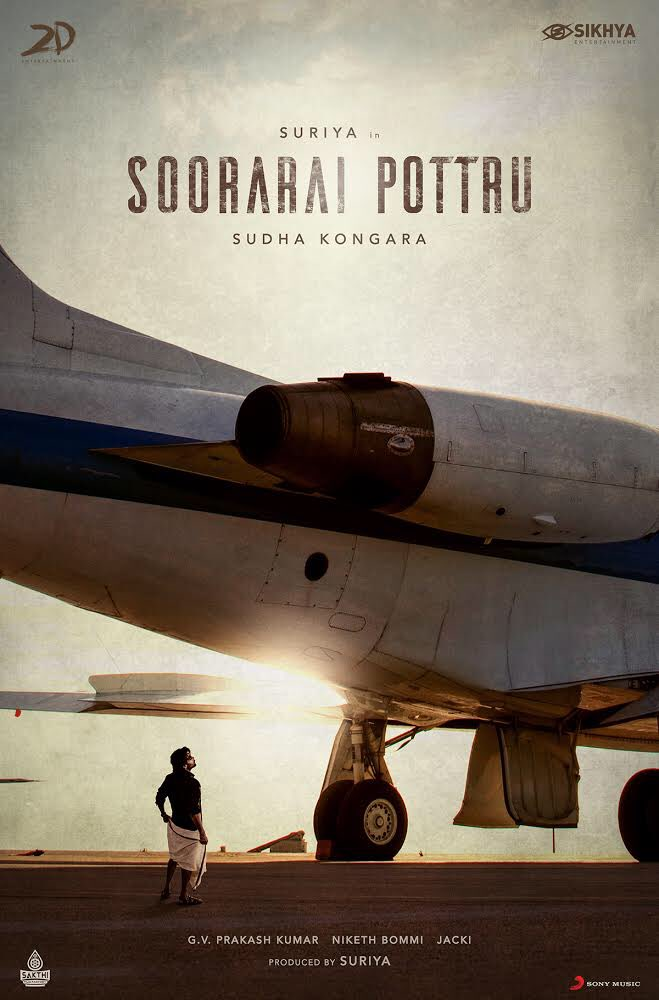 After Thalapathy 63, Nerkonda Paarvai and SK 17, it is now Soorarai Pottru