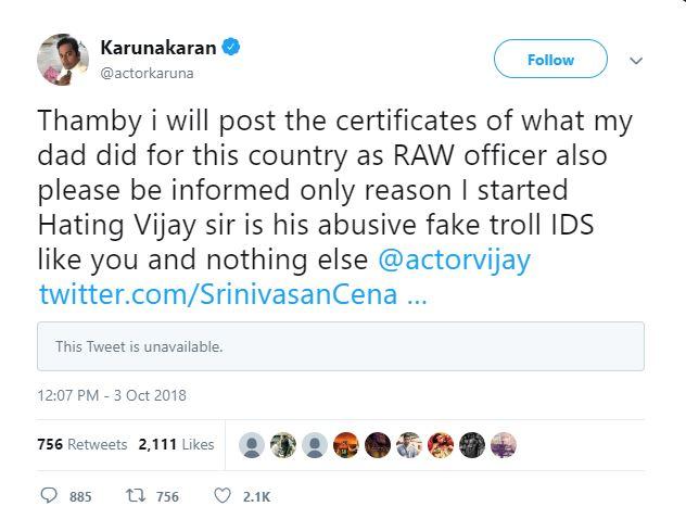 Popular actor's heartfelt apology to 'Thalapathy' Vijay
