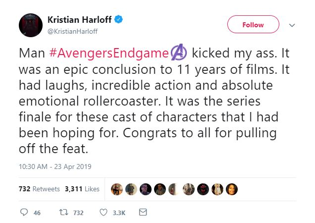 spoiler free review endgame