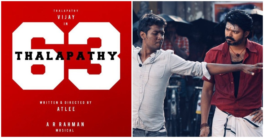 Vijay Atlee Thalapathy 63