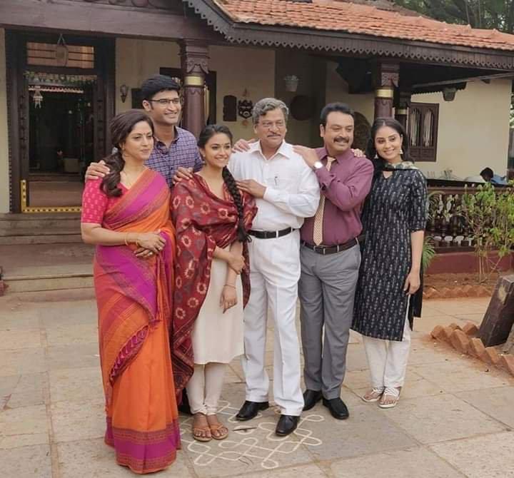 Keerthy Suresh, Nadhiya, Keerthy 20
