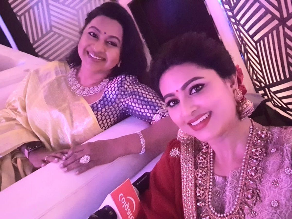 Raadhika Sarathkumar and Sneha in Dance Jodi Dance