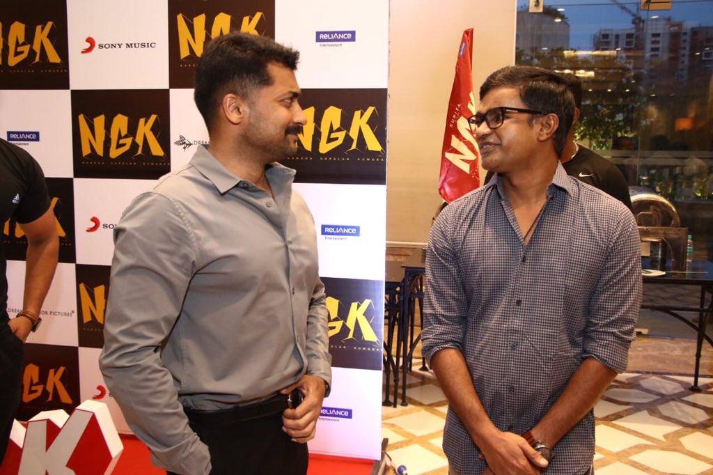 Suriya and Selvaraghavan for NGK
