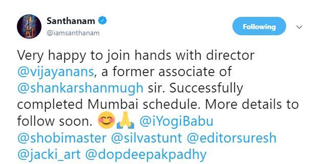 Santhanam Yogi Babu