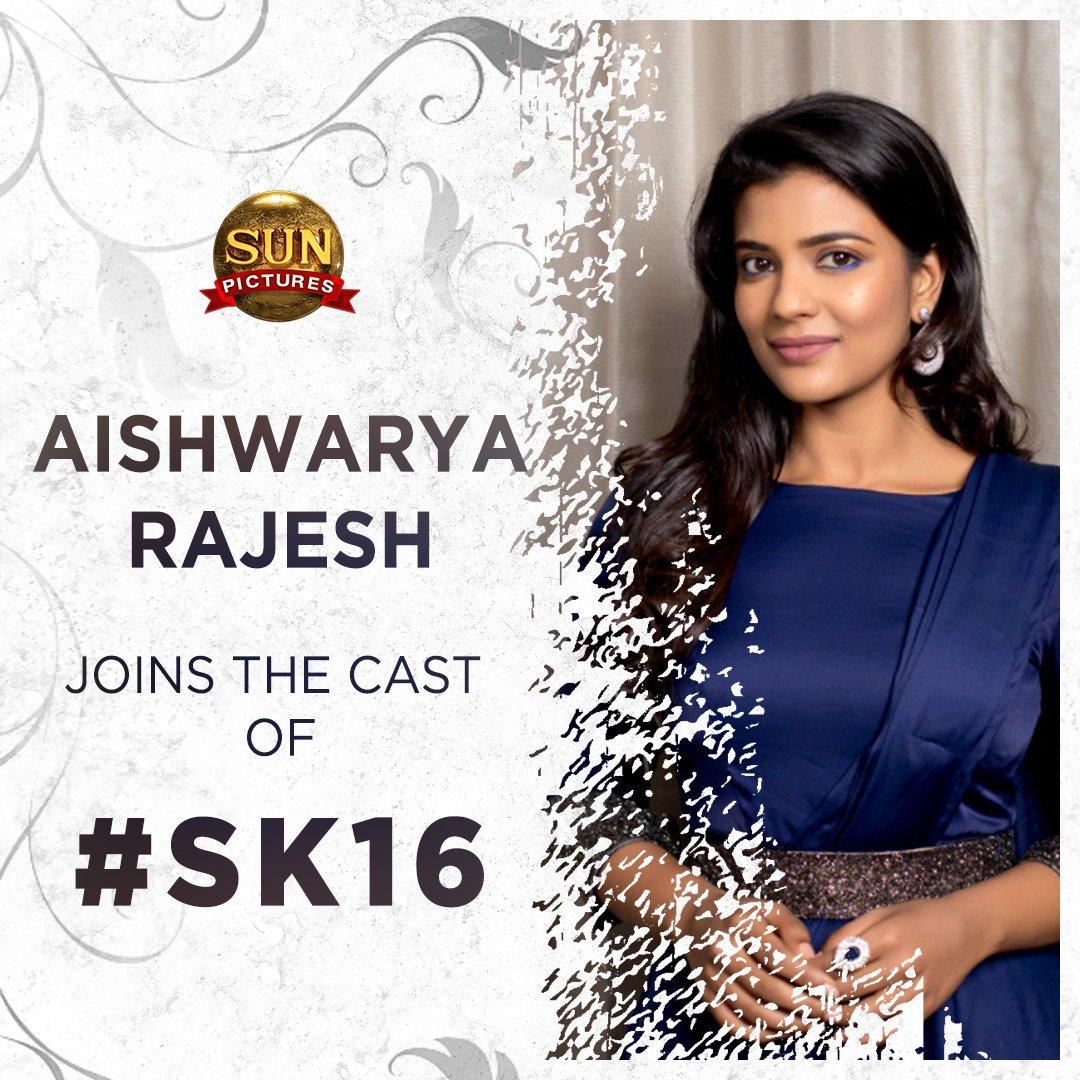SK16 Aishwarya Rajesh Sivakarthikeyan