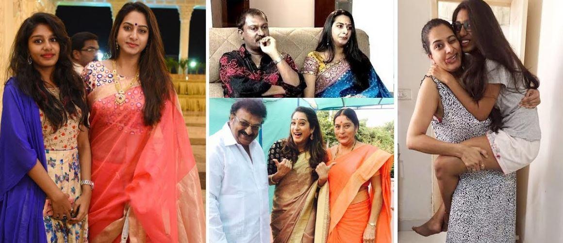 Surekha Vani Suresj Teja Family Photos