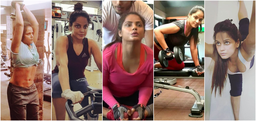 NEETU CHANDRA GYM WORKOUT