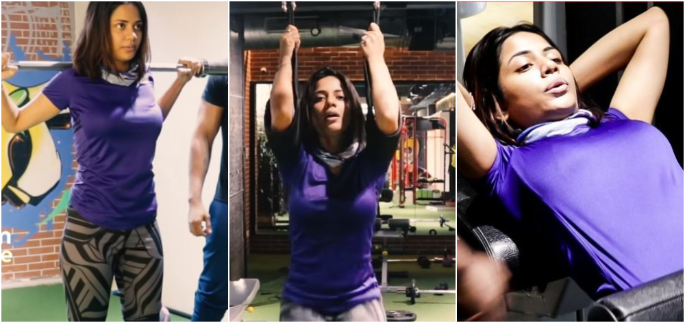 AISHWARYA DUTTA GYM WORKOUT