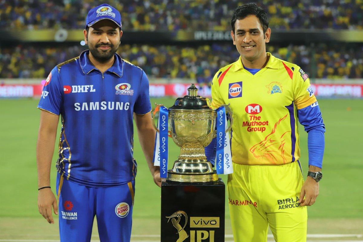 Chennai Super Kings CSK MS Dhoni Mumbai Indians MI Rohit Sharma